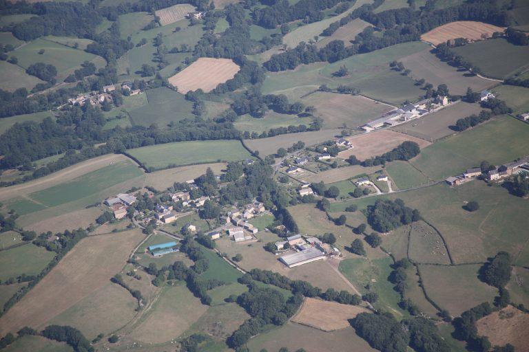 Vue aérienne Camboulazet