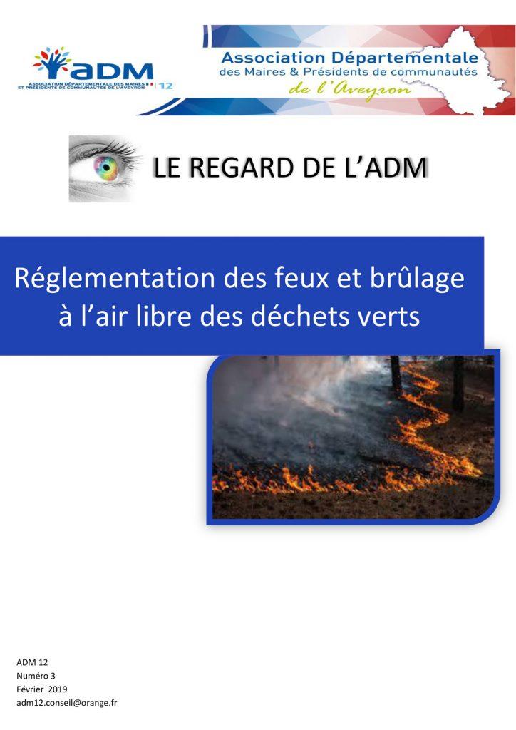 Règlementation brûlage déchets verts à l'air libre